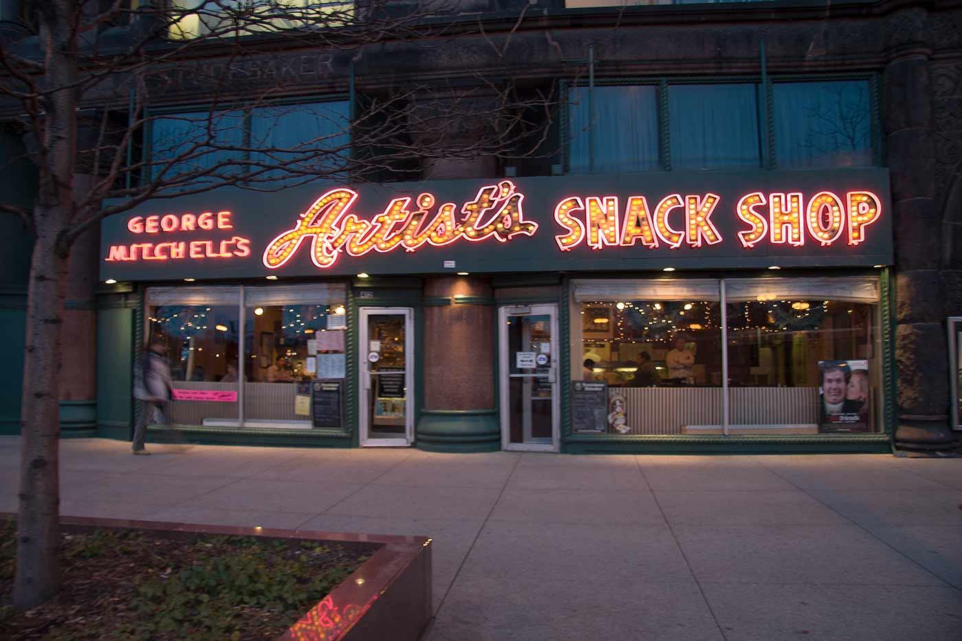 Artist's Snack Shop