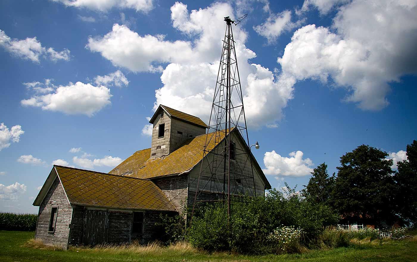 Illinois farm house