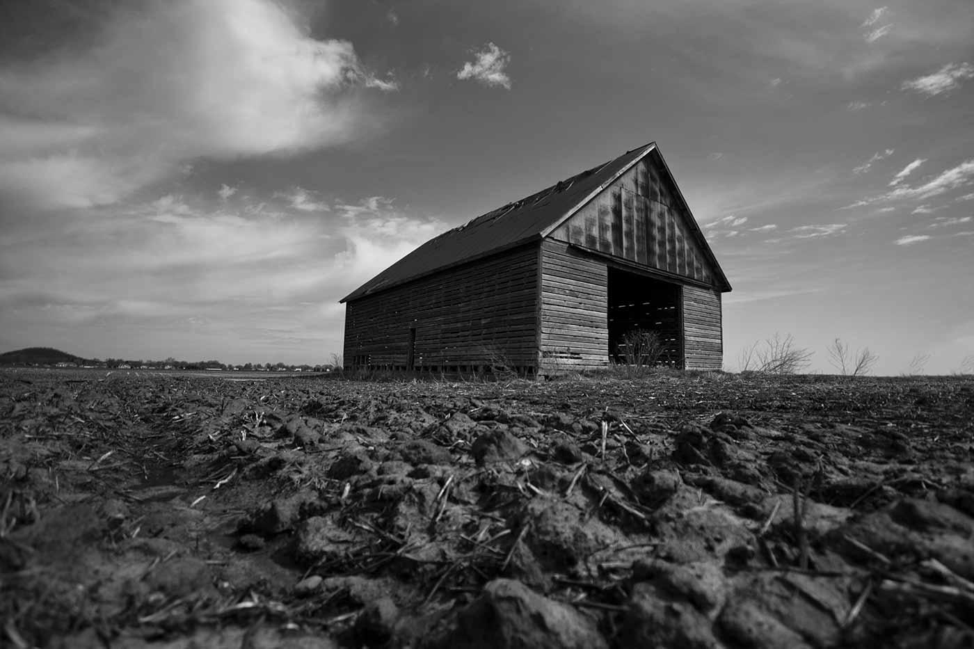 Bare soil in Illinois