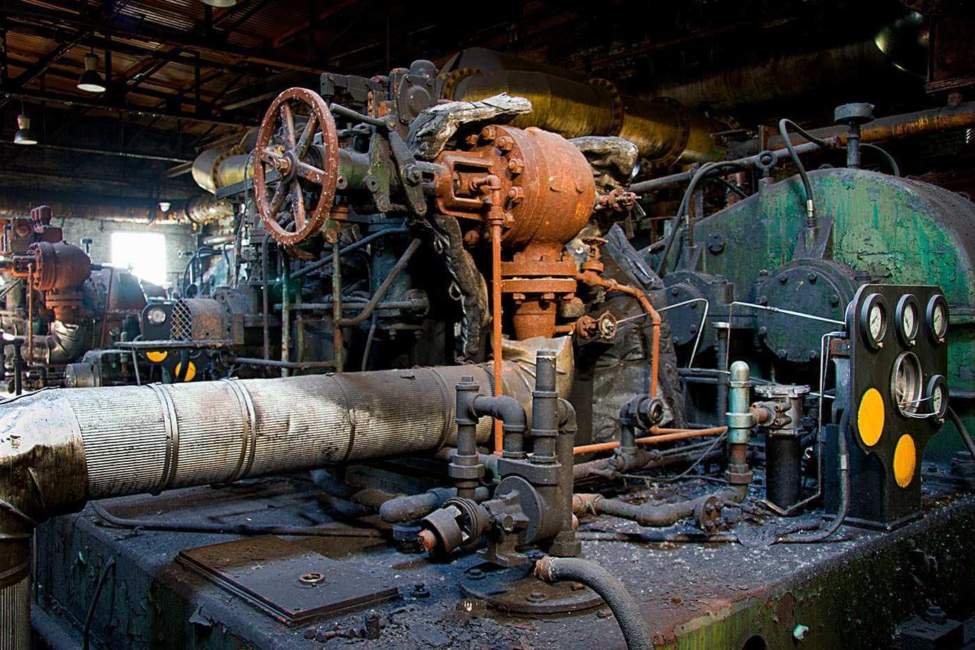 Machine belch
