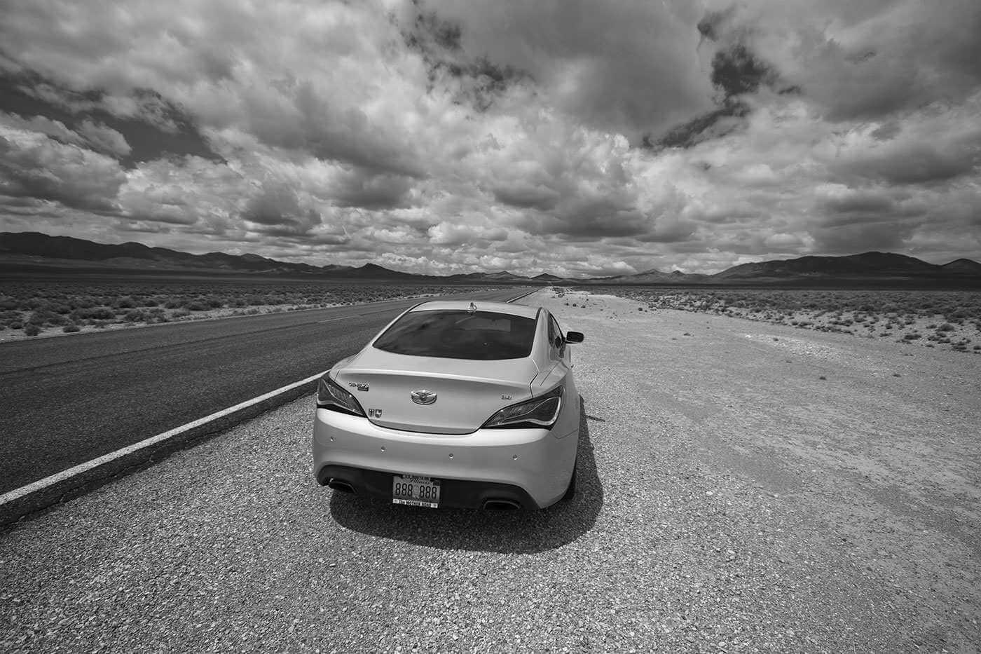 Nevada Desert stop